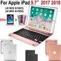 Flip 4,0 Bluetooth Tastatur Abdeckung Fall für Apple Neue iPad 9,7 2017 2018 A1822 A1823 A1893 A1854 5th 6th Generation fall Funda