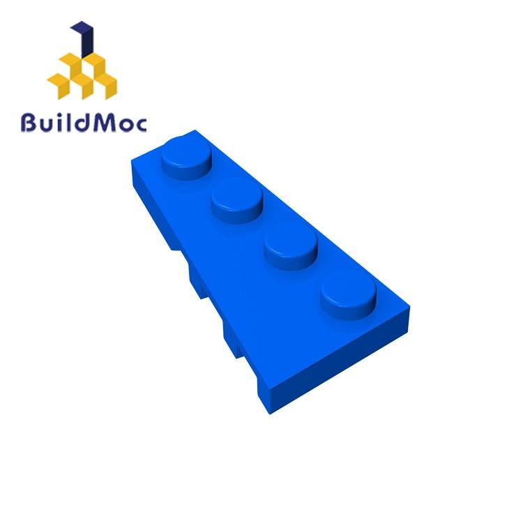 BuildMOC Compatible Legoing41770 2x4 For Building Blocks Parts DIY LOGO Educational Creative Gift Toys15.6