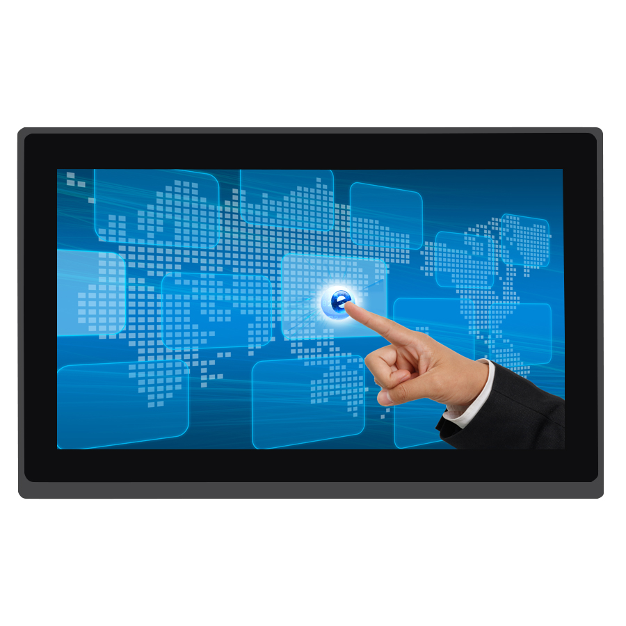 12 inch 16:9 widescreen monitor with capacitive touch screen high brightness multi-touch hdmi input pc monitor ...
