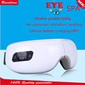 Eyes SPA Music SPA Electric Air pressure Eye massager . Wireless Vibration Magnetic heating therapy massage device.