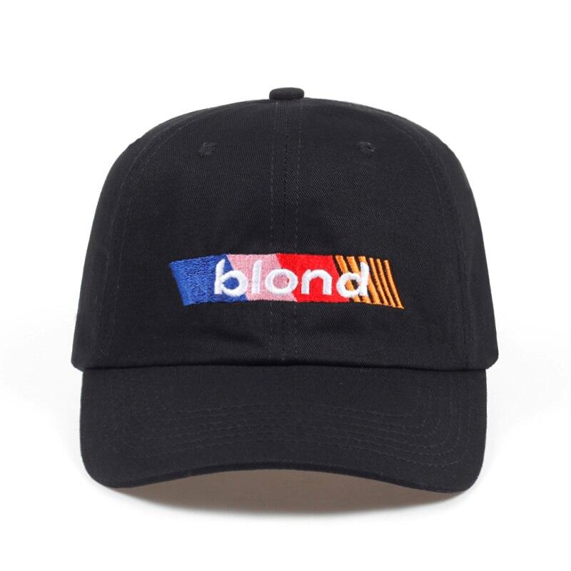 2018 new Blond Frank Ocean Dad Hat fashion men women golf   Cap     baseball     cap   Adjustable Hip-hop snapback   cap   hats