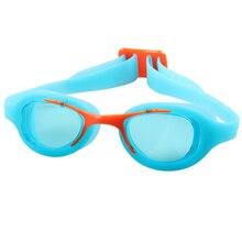a49a8800b Crianças bebê de Natação À Prova D  Água Óculos de Proteção Anti-nevoeiro  Óculos de Lente Quadro de Silicone Óculos de Natação I..