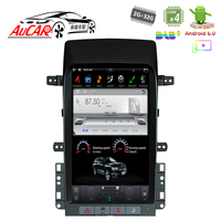 Android 6.0 Tesla style Car No DVD Player GPS Navigation For Chevrolet Captiva 2008 2009 2010 2011 2012 WIFI 4G Vertical Stereo