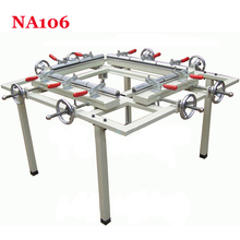 1PC Hand wheel single chuck machinery stretcher machine,NA105 net head tension device machine Net area 1500*1200mm