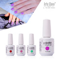 Newest Arte Claco 220 Colors 6Pcs/Lot Nail Art Manicure UV Led Soak Off Nail Gel Polish UV Gel Nail Lamp