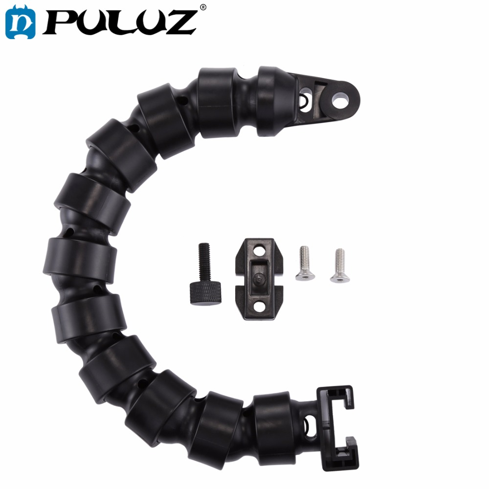 PULUZ 14 Inch 35.5 Cm Flex Arm For Underwater Camera Photo & Video Lighting With YS Adapter + Fixed Base + T-Groove Plate