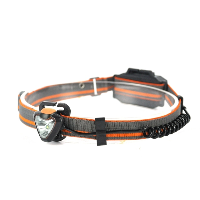 BORUiT G023 XPE LED 600LM Headlight 360 Degree Rotate Headlamp 4-Mode Head Torch Light Lamp Hunting Frontal Lantern AAA Battery