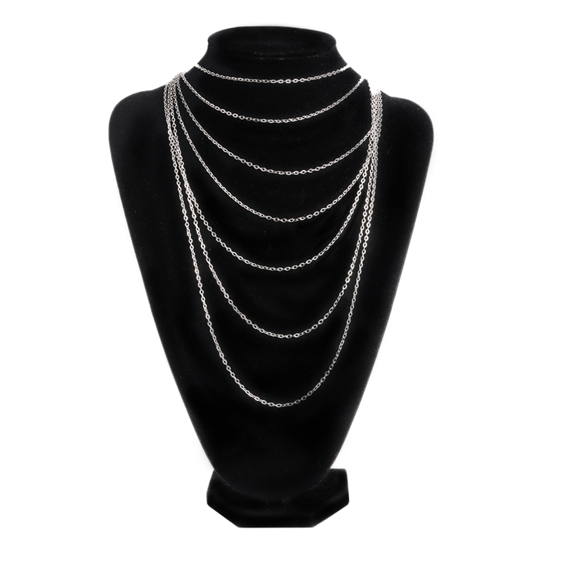 Vintage Popular Style Multi-layer Womens Multi-Chain Necklace NEW