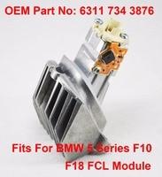 1PCS F10 F18 LCI Daytime Driving Angel Eye Light DRL LED Maker OEM Part Number 63117343876 Fits For BMW 5 Series F10 F18 14 16