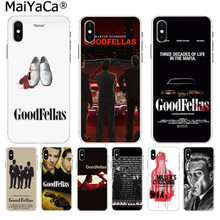 MaiYaCa Goodfellas Gangster On Sale Luxury Cool Phone Accessories Case for iphone 11 pro 8 7 66S Plus X 10 5S SE XR XS XS MAX(China)