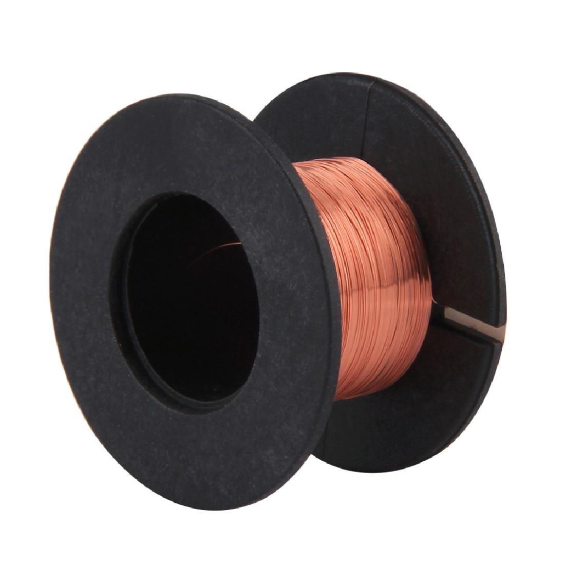 Weld Copper Soldering Solder 0.1MM PPA Enamelled Reel Wire For Welding Repair Maintenance High Quality