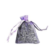 цена на Natural Lavender Bud Dried Flower Sachet Bag Aromatherapy Aromatic Air Refresh