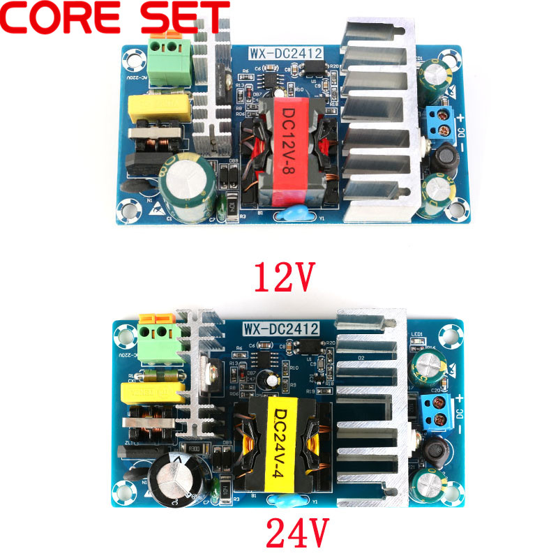 AC to DC Switching <font><b>Power</b></font> <font><b>Supply</b></font> Module AC 110v 220v to DC <font><b>24V</b></font> 4A/12V 8A AC-DC Switch <font><b>Power</b></font> <font><b>Supply</b></font> Board image