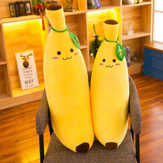 50 cm funny banana cushion