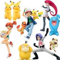 1 Pcs Tomy Garchomp Eevee Action Figures Toys Anime Collectible Model Kids Gifts Eevee Nice Toy