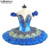 La Fille du Фараон производительность юбка пачка Для женщин синяя птица Профессиональный пачки девушки BT8981 Золото классическая балетная пачка