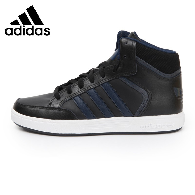 US $107.07 33% OFF|Original Authentic Adidas Originals VARIAL MID Men's  Skateboarding Shoes Sneakers High Top Flat Hard Wearing Leisure Cozy  BY4059-in ...