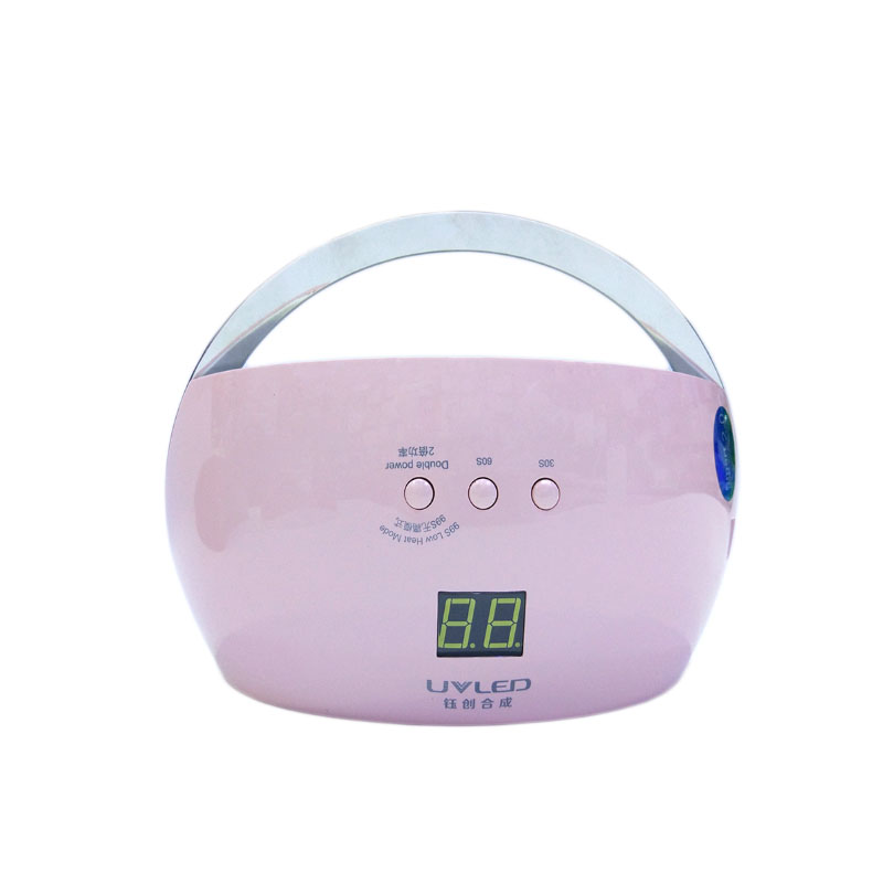 With handle design SUN6 Portable Handle UV LED Professional Nail Dryer,To prevent false touch portable handle bidirection vascular