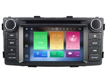 Octa(8)-Core Android 6.0 CAR DVD player FOR TOYOTA HILUX 2012 car audio gps stereo head unit Multimedia navigation