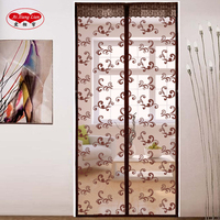 Door Curtain DIY Magnetic With Summer Anti Moquito Mosquito Net Mesh Curtains Polyester Automatically Closed Ai