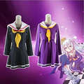 No game no life cosplay Shiro costume halloween women clothes carival dress wigs sailor suit Japanese school uniform