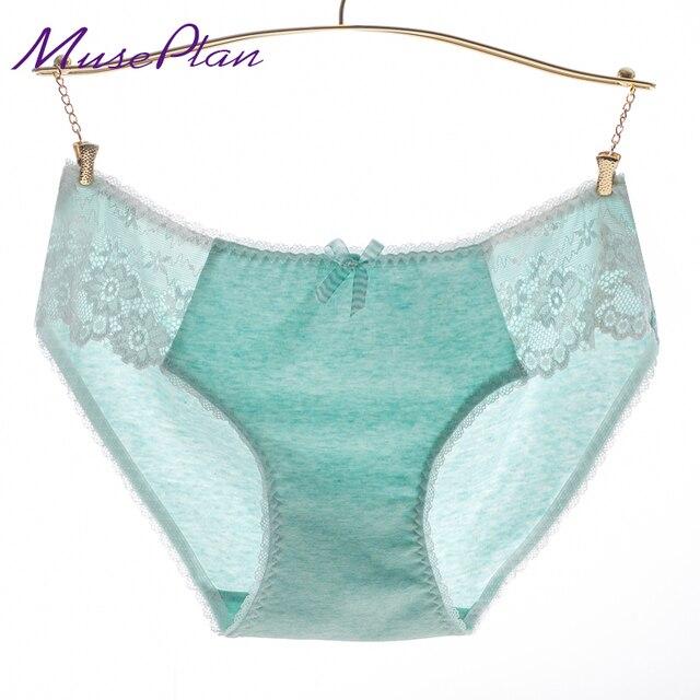 b11c47b1c lace panties cotton underwear women sexy seamless Briefs breathable panty  Hollow briefs Plus Size girl underwear