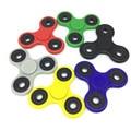 Fun 7 Colors Fluorescence Tri-Spinner Fidget Toy EDC Hand Spinner For Rotation Time Long Hybrid Eramic Bearing Anti Stress Toys