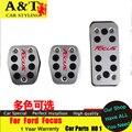 A и T стайлинга автомобилей для форд-фокус педаль газа 2012 для форд фокус 2009 - 2014 специальный алюминиевого сплава педали стайлинга автомобилей
