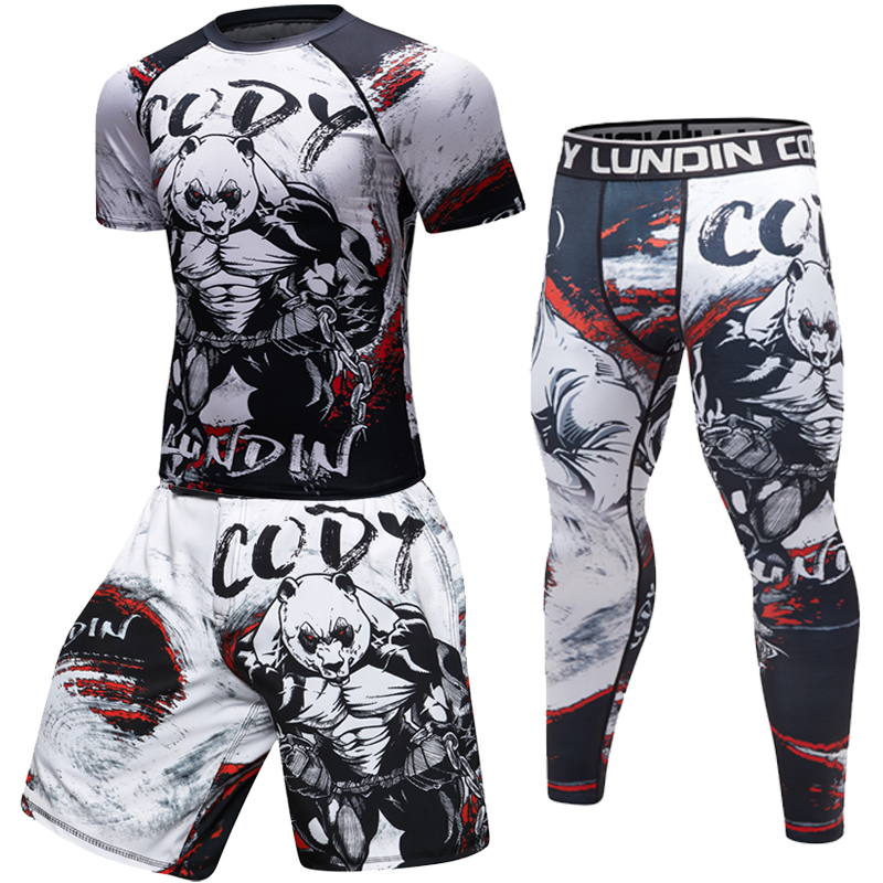 Rash Guard  MMA BJJ Compression Shirt
