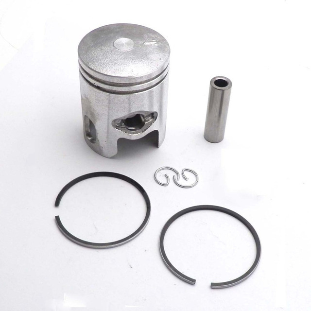 Piston Rings Kit 40mm With 12mm Pin For 50cc 2 Stroke 1PE40QMB Yamaha Minarelli JOG 50