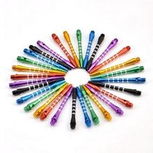 18pcs/lot of Darts Shafts Colourful Aluminum Medium Harrows Throwing Toy New Needle Sales