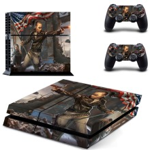 Vinyl Decal Skin Stickers For PS4 Playstation 4 Playstation Sticker Console + 2PCS Controller Skins Cover