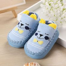 Обувь для младенцев; повседневная обувь; Удобная нескользящая обувь для малышей с мягкой подошвой