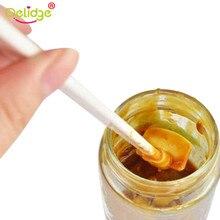 Delidge 1 шт. цеативная Бытовая кухонная длинная бутылка скребок для джем-соус силиконовая лопатка для теста скребки домашние инструменты аксессуары