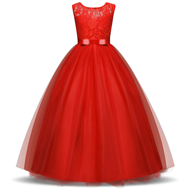 Christmas Flower Girl Dress Wedding Birthday Party Dresses For Girls Kids Prom Gowns Designs Little Lady Children Party Vestidos summer 2017 new girl dress baby princess dresses flower girls dresses for party and wedding kids children clothing 4 6 8 10 year