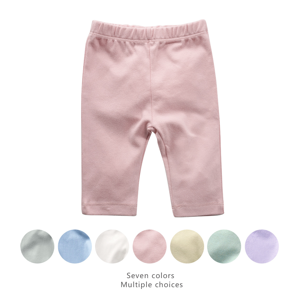 Newborn Baby Pants 100% Cotton Baby Girl Clothes Children Toddler Girl Floral Pants Boys And Girls Spring Clothing