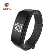 Wearpai Mi Band Bluetooth Smart Браслет сердечного ритма Мониторы IP67 Спорт Фитнес трекер Браслет для Android IOS Freeshopping