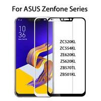 Zenfone4 Max ZC520KL Vetro Temperato Per ASUS Zenfone 5 ZE620KL 4 Max PLUS ZB570TL ZC520KL ZC554KL Live ZB501KL Pellicola Protettiva