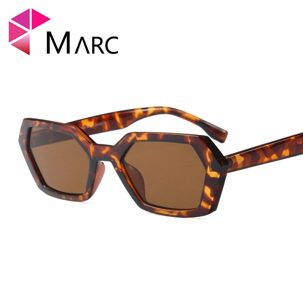 MARC 100%UV400 2018NEW WOMEN sunglasses Wrap Eyewear shield oculos Leopard fashion Plastic Resin gafas goggle