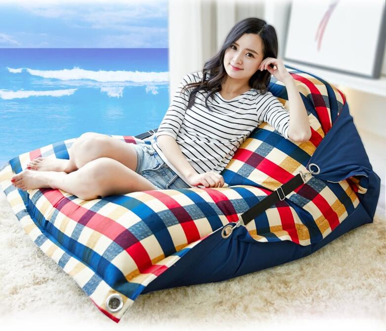 cover only no filler buggle up beach bean bag outdoor adults beanbag chair extra large garden sofa recliner with belt safety