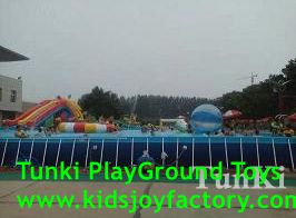 metal frame swimming pool for backyard square above ground pool with cover for sale - Square Above Ground Pool