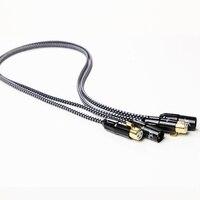 MPS X 702XLR HiFi 99.9997% occ 24 К Позолоченные 3Pin разъем XLR разъем баланс аудио кабель DVD CD ЦАП усилителя 1 пара 2 кабеля