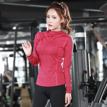 купить New Yoga Clothes Long Sleeve Ladies'Tight Garments, Sports and Leisure Coats, Fitness Garments дешево