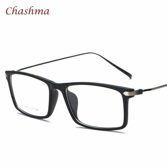 e3515927dbd659 Chashma Vrouwen en Mannen Kwaliteit Brillen TR 90 Licht Optische Frame  Student Bril voor Bijziendheid Trend
