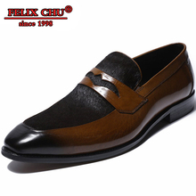 Italian Style Men Loafers Shoes Casual High Quality Leather Elegant Black Brown Shoes Slip On Party Wedding Pointed Shoes Men tassel leather shoes men loafers soft breathable men shoes casual slip on high quality brown black blue