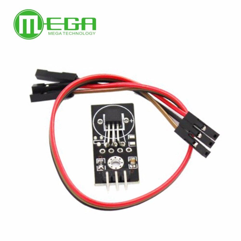 5 x Digitaler Temperatursensor DS18B20 Modul Board DC 5V für Arduino