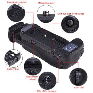Image 4 - PowerTrust Verticale MB D18 Battery Grip Houder voor Nikon D850 DSLR Camera S Werken met EN EL15a EN EL15 of 8X AA Batterij