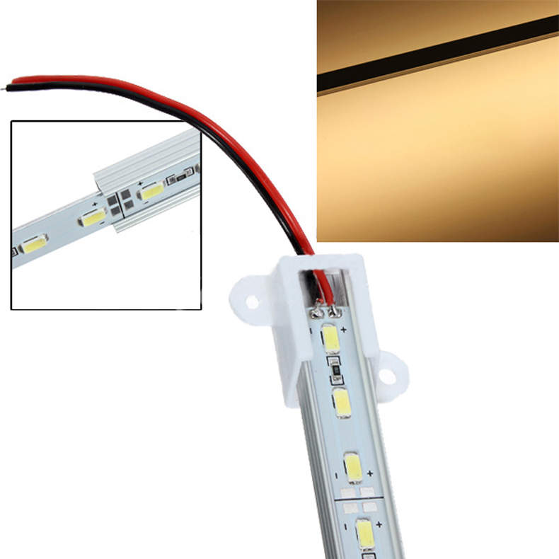 50CM 5630/5050 SMD 36 LED Rigid Aluminum Strip Bar Light Bulb ALI88