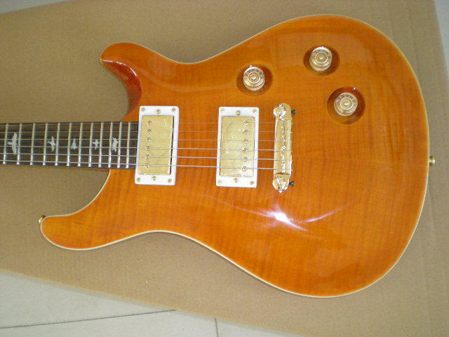 Mahogany Wood Guitar ~ High quality electric guitars prs canadian maple neck