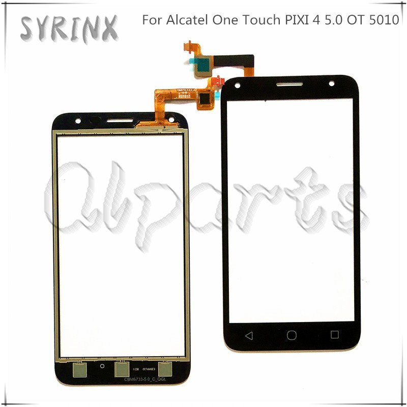 Syrinx Touchscreen Glas Voor Alcatel One Touch Pixi 4 5 0
